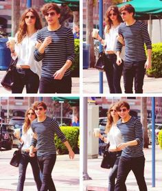 eleanor and louis. Best couple ever. Liam James, James Horan, Perfect Couple, Best Couple, Harry Edward Styles, Harry Styles, Louis And Eleanor, Harry 1d, Stylish Couple