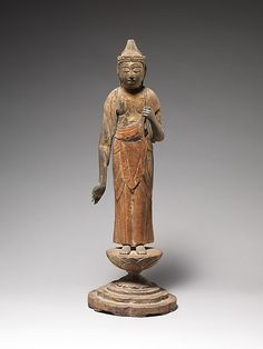 Shō Kannon    Period:      late Heian period (ca. 900–1185)  Date:      12th century  Culture:      Japan  Medium:      Wood with traces of gilding and polychromy