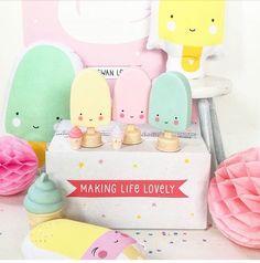"""378 Likes, 2 Comments - A Little Lovely Company (@alittlelovelycompany) on Instagram: """"These #popsiclelight and more... S A L E !!!#makingsalelovely #gogogo ! #alittlelovelycompany…"""""""