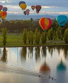 On the lake in Canberra - Australia