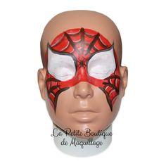 17 meilleures images du tableau maquillage spiderman en. Black Bedroom Furniture Sets. Home Design Ideas