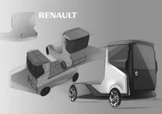 Renault Truck on Behance