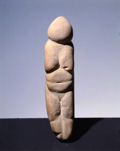 Venere preistorica, Chiozza di Scandiano, Paleolitico Superiore, Arenaria, Musei Civici di Reggio Emilia