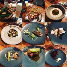 Trying out the clove club London - nice venue good food although a little under whelming #thecloveclub #worldstop50restaurants #london #londoneats