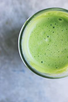Classic Green Juice - Kale, Celery, Cucumber, Apple, Lemon, Lime