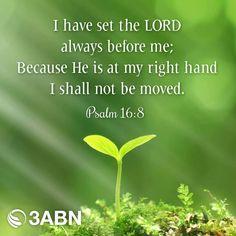 Psalm 16:8 KJV