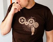 Logic Trap - Steampunk Men's T-shirt - Gifts for Men, Father's Day