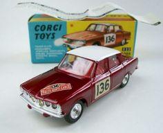 Miniature Auto, Vintage Toys For Sale, 60s Toys, Amazing Toys, Corgi Toys, Matchbox Cars, Metal Toys, Model Car, Toy Sale