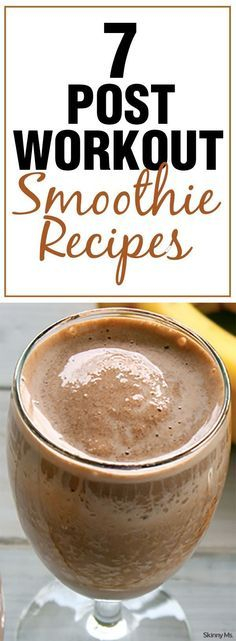 ... Workout Smoothie on Pinterest | Workout Smoothie, Smoothie and