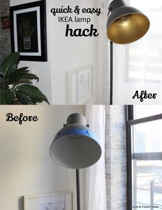 Ikea Lamp Makeover