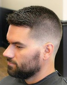 High fade Short Fade Haircut, High And Tight Haircut, Short Hair Cuts, Short Hair Styles, Cool Haircuts, Haircuts For Men, Hair Clipper Sizes, Beard Shampoo And Conditioner, Faded Hair