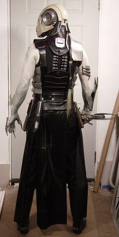 Sith Stalker Costume Rear by ~MyWickedArmor on deviantART