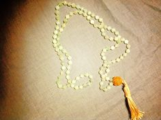 """Last week I came across a giveaway in the blog Daily Cup of Yoga for a beautiful Mala necklace and I couldn't seem to stifle the voice in my head that said """"I could do that."""" This article was inspi..."""