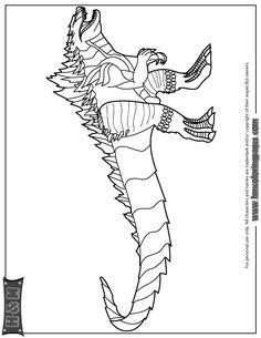 Godzilla Coloring Sheets Coloring Pages Coloring Pages Godzilla