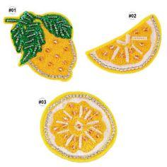 Image result for fabric lemon applique