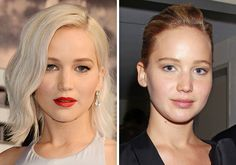 No make-up trend sweeps Hollywood stars