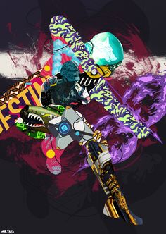 Destiny /// Hunter Nightstalker by Mr. Taka