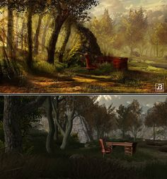 New concept art and in-game screen from Forgive Me! #gamesinitaly #indiegames #videogames