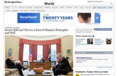Gobierno de EE.UU. investigará filtración de datos a periodistas del NYT