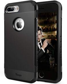 8d1d00df1b Amazon.com: Yesgo Compatible for iPhone 7 Plus Case Shockproof Anti-Scratch Protective  Case Cover (K6P-Black): Cell Phones & Accessories