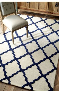 Rugs Usa Homespun Moroccan Trellis Blue Rug Summer Up To 80