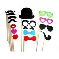 Photo Booth Props 15 Piece
