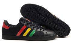 Mens Adidas Classic Skateboard Shoes Canvas Black