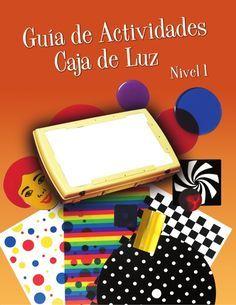 Guía de actividades caja de luz. Traducción NIVEL 1 de la American Printing House for the blind.