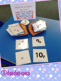 Money match - All About Money Activities, Eyfs Activities, Math Resources, Year 1 Maths, Early Years Maths, Teaching Money, Teaching Math, Maths Eyfs, Reception Class
