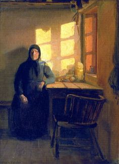 Sunshine in the Blind Woman's Room, 1885 Anna Ancher