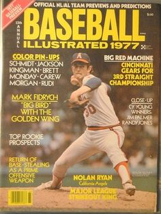 1977 Baseball Illustrated California Angels Nolan Ryan | eBay