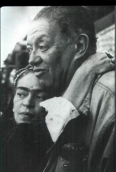 Frida and Diego | 1954 | last picture of them together