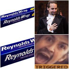 Alexander Hamilton's trigger