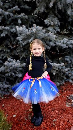 Frozen Princess Inspired Tutus 2 Pack Anna & Elsa by TreasuredTutu