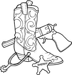 Western cowboy coloring pages ~ 228 Best Boys:Cowboy images | Cowboy party, Cowgirl party ...