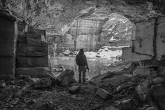 Flooded Quarry near Dorset, Vermont. December 2014. Oren Darling Fuji X-T1, XF 18-135mm WR f/3.5-5.6 @ 18mm, f/3.5, 1/13s, ISO 3200.