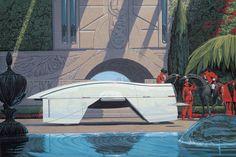 Inspirations: Syd Mead, visual futurist