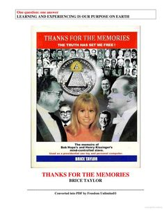 thanks memories memoirs kissingers mind controlled