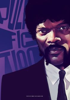 Classic Movie Posters by Flore Maquin | Pulp Fiction, Fiction and ...