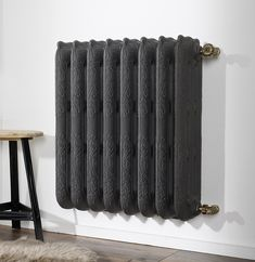 """Soft lines, curves, in the spirit of """"Belle Epoque"""". These radiators are true objects of classical design and create a comfortable atmosphere, timeless. Decorative Radiators, Luminaire Led, Cast Iron Radiators, Shabby, Home Renovation, Art Nouveau, Home Appliances, Indoor, French Interiors"""