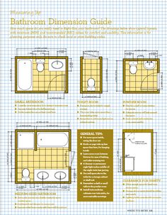 Bathroom Floor Plans With Shower Dimensions | Kitchens, Bathrooms, Sheds,  Paving, Gardening. Bathroom Design LayoutSmall ...