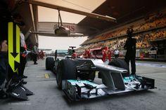 Michael Schumacher, Mercedes, Shanghai, 2012