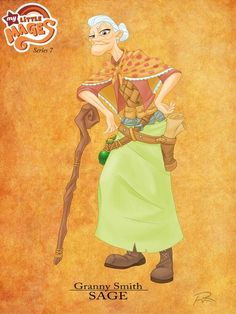 My Luttle Mages- Granny Smith