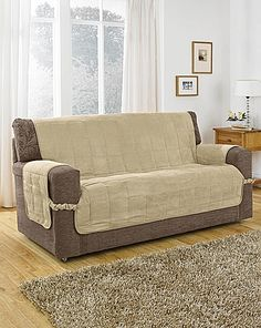 Faux Suede Furniture Protector