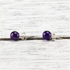 Tranquility Earrings Spiritual Wisdom, Heart And Mind, Amethyst, Spirituality, Mindfulness, Earrings, Silver, Collection, Products