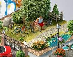 """Check out this @Behance project: """"Puzzle"""" https://www.behance.net/gallery/20524415/Puzzle"""
