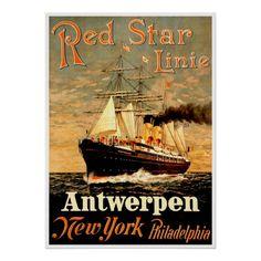 Red Star Line.