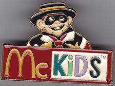 #McDonalds #Jewellery #Jewelry #Pin #Badge