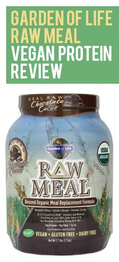 (The Paleo Diet Meal Plan) Garden of Life Raw Organic Meal Chocolate, Net Wt. lbs Kg) Healthy Drinks, Get Healthy, Healthy Protein, Healthy Mind, Healthy Smoothies, Healthy Meals, Shakeology Substitute, Organic Recipes, Raw Food Recipes