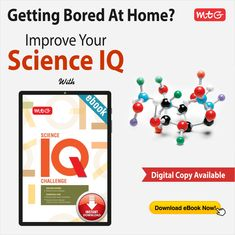 Make the best use of lockdown! Improve your kid's Science IQ along with preparing them for NSO. #MTG's Science IQ Challenge. Download the #ebook today! Math Books, Science Books, Hindi Books, English Book, Getting Bored, Mtg, Children, Kids, Improve Yourself